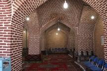 مسجد طاق میاندوآب در انتظار گردشگران نوروزی
