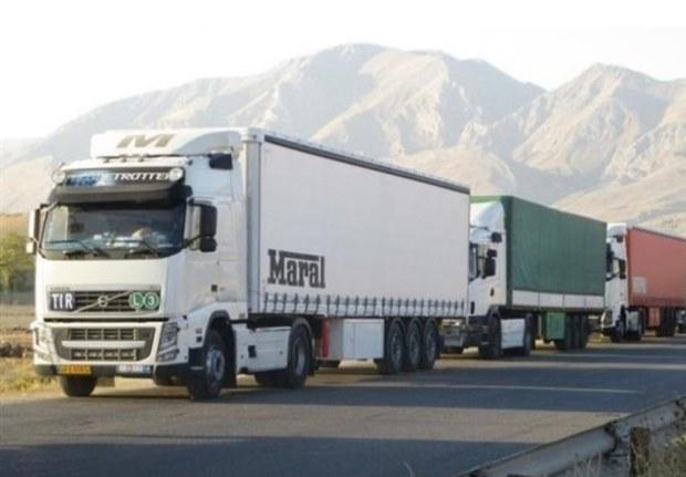 450 میلیون تن بار در جاده های کشور جابجا می شود