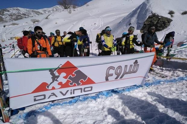 جوان مهابادی نایب قهرمان رقابت های کوهنوردی با اسکی کشور شد