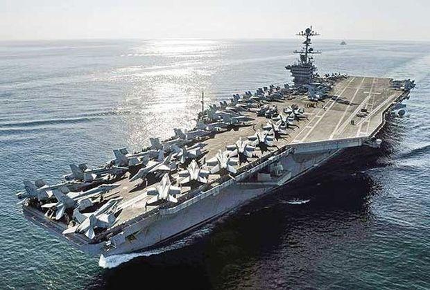فرمانده ناو آمریکایی: بدنبال جنگ با ایران نیستیم