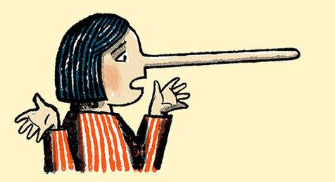 دروغ بگویید دماغتان دراز نمیشود، اما مغز و جسمتان عذاب میکشد