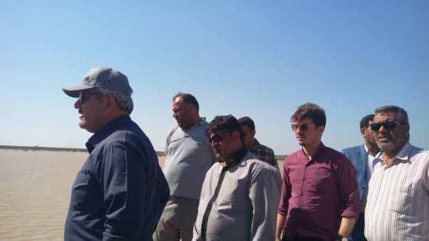 فرماندار:سیلاب جاری به سمت خرمشهر تحت کنترل است