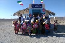 مدرسه توپی کلاس در مهرستان افتتاح شد