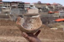 کشف اشیاء تاریخی دوران پیش از اسلام در روستای خاوه قم