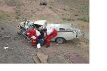 برخورد 2 دستگاه خودرو در جاده سبزوار -بردسکن 2 کشته برجای گذاشت