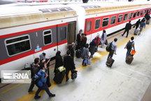 نخستین قطار ویژه اربعین مشهد را به مقصد کرمانشاه ترک کرد
