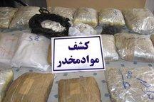 383 کیلوگرم مواد مخدر در رابر کشف شد