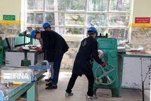 ۳۵۵ مددجو در تاکستان مهارت فنی و حرفهای آموزش دیدند