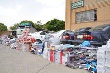 کشف کالای قاچاق در بوشهر 283 درصد افزایش یافت