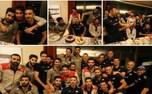 تصویری از جشن تولد ملی پوش والیبال ایران در لهستان