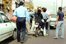 نزاع بعد از تصادف و بی توجهی به قانون