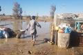 جاری شدن سیلاب سبب تخلیه سه روستای هیرمند در سیستان شد
