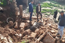 سیلاب هشت میلیارد ریال به حوزه عشایری گتوند خسارت زد