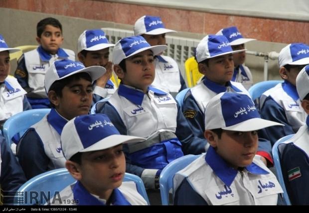 همایش همیاران پلیس در رضوانشهر با حضور رئیس پلیس راهور گیلان