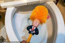 فروش فرچه توالت به شکل ترامپ! + تصاویر