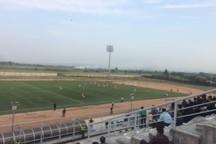 جدال قعرنشینان لیگ دسته یک فوتبال کشور برنده نداشت