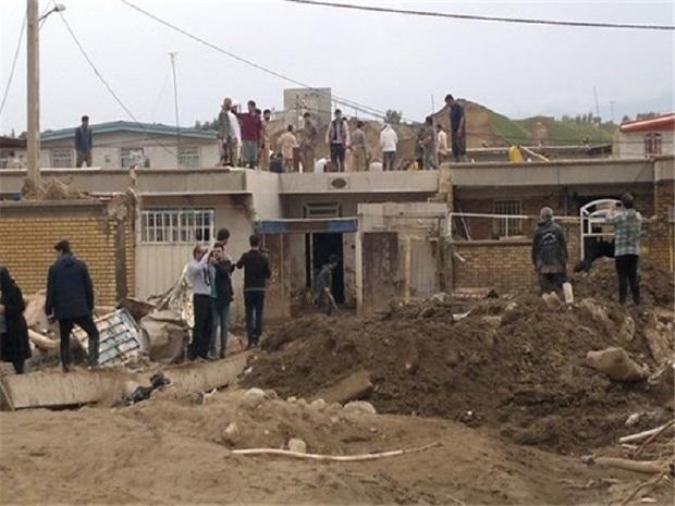 نگاهی به آخرین وضعیت روستای سیل زده شورآب خلیل آباد