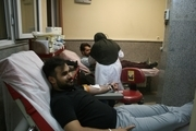 اهدای 90 واحد خون توسط مردم میاندوآب در شب شهادت حضرت علی (ع)