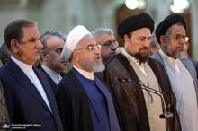 رئیسجمهور روحانی: میزان رای ملت است» نظریه سیاسی، حقوقی و فقهی امام بود