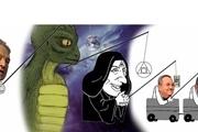 کاریکاتور جنجالی پسر نتانیاهو از مخالفان پدرش+ عکس
