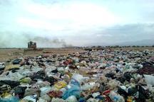 دفن غیراصولی زباله در غیزانیه مشکل ساز است