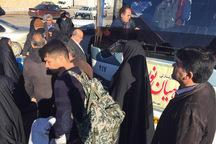 260 زائر از خمین به مناطق عملیاتی جنوب کشور اعزام شدند
