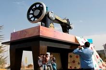 112 اثر هنری در شهر مشهد نصب شد