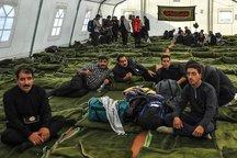 یک هزار و 200 زائر اربعین در سیروان اسکان اضطراری داده شدند