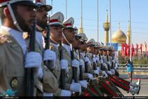 مراسم رژه نیروهای مسلح در جوار حرم مطهر امام خمینی(س)-1