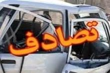 مجروح شدن 23 نفر بر اثر تصادف اتوبوس با تریلی