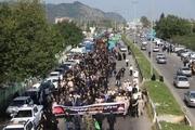 پیادهروی جاماندگان کربلا در شهرهای آستارا و لوندویل