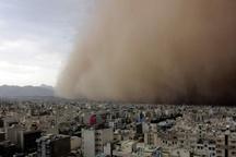 هشدار نسبت به وزش باد شدید طی 3 روز آینده در تهران