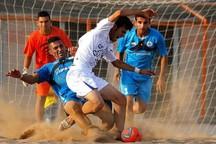 تیم فوتبال ساحلی گلساپوش یزد،جهان نژادیان آبادان را شکست داد