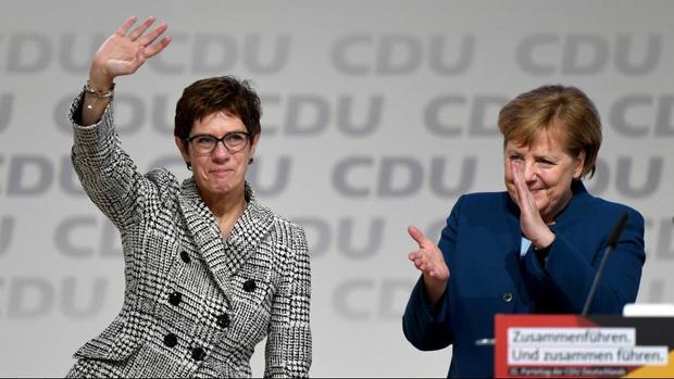 جانشین مرکل به عنوان رهبر حزب دموکرات مسیحی آلمان انتخاب شد