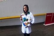 مدال نقره بازی های پاراآسیایی جاکارتا به بانوی دامغانی رسید