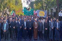 راهپیمایی یوم الله ۱۳ آبان در آذربایجان شرقی آغاز شد