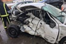 تصادف خودرو سبب مرگ یک نفر در کرج شد