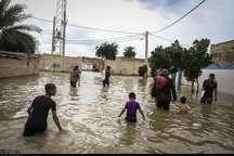 سیلاب کرخه به الهایی از توابع اهواز رسید