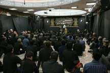 آیین شام غریبان سالار شهیدان در استان مرکزی برگزار شد