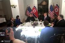 عکس/ ضیافت شام ترامپ با رهبر کره شمالی