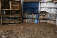 آستان قدس رضوی کتابخانه های مناطق سیلزده را تجهیز می کند