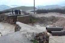 جاده های اندیکا 80 میلیارد ریال خسارت دیدند