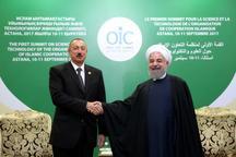 دکتر روحانی: باید از ظرفیتهای گسترده ایران و آذربایجان در راستای منافع دو ملت استفاده کرد