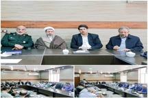 برگزاری جلسه هم اندیشی و ایجاد وحدت رویه مدیریت بحران حمیدیه با حضور نمایندگان استان کرمان