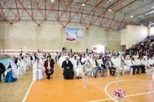 89 زوج شیعی و سنی کنگان آغاز زندگی مشترک را جشن گرفتند