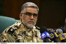 جانشین فرمانده کل ارتش: شاهد تنش و شرارتی در مرزهای غربی نبودیم