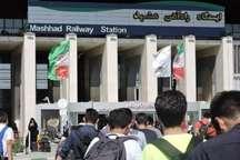 مقصد 50 درصد قطارهای نوروز 96 مشهد است