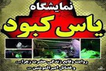 نمایشگاه یاس کبود در خمین گشایش یافت
