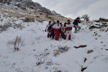 نجات جان کوهنوردی در ارتفاعات گوشیر مراغه