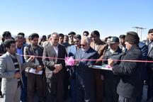 22 طرح عمرانی و خدماتی در شهرستان زیرکوه افتتاح شد